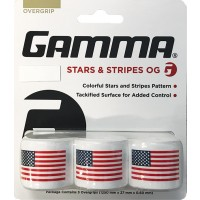Gamma Stars and Stripes Overgrip - 3 Pack