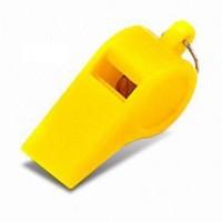 Plastic Whistles 1 Dozen