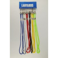 Whistle Lanyards Asst. Red/White/Blue (Dozen)