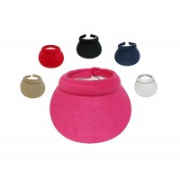 Cushees Clip Visor with Terry Cloth