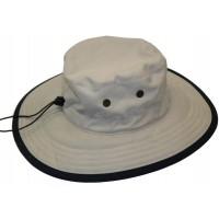 Cushees Big Brim SolarBloc Outdoor Hat - Khaki Large