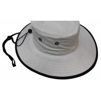 Cushees Big Brim SolarBloc Outdoor Hat - White