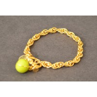 Tennis Toggle Bracelet w/Tennis Ball