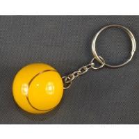 Porcelain Musical Tennis Ball Keyring