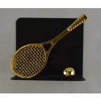 Tennis Letter Holder-Black