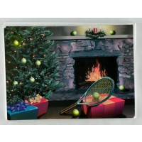 Tennis Christmas Cards-Hearth(10 pack)