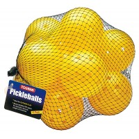 Pickleball Outdoor 12 pack Optic Yellow Balls