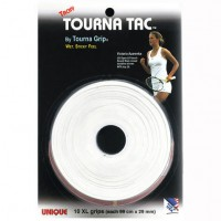 Tourna Tac Overgrip XL - White 10 Pack