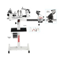 Tourna 300 CS Stringing Machine - Crank Style With Floor Stand