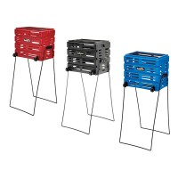 Tourna Ballport Deluxe with Wheels - holds 80 balls