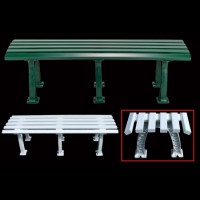 Tourna Mid-Court Bench 5' Green