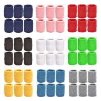Tourna Team Pack Tennis Wristbands - 6 Pair
