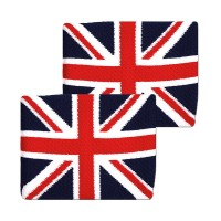 Tourna British Flag Wristbands