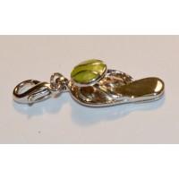 Tennis Sandal Shoe Charm