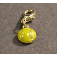 Tennis Ball Shoe Charm