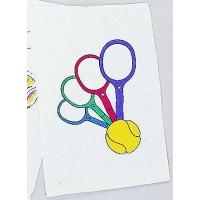 """Clarke Towel """"Multi Racquet"""""""