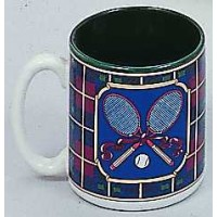 Crossed Racquets Mug