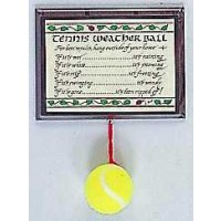Tennis Weather Ball/Plaque