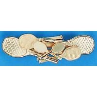 Gold Multi Racquet Berette
