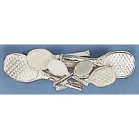 Silver Multi Racquet Berette