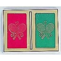 Tennis Playing Cards-Double