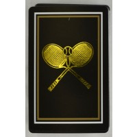 Tennis Playing Cards-Single Black
