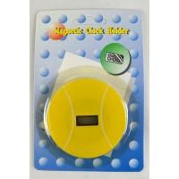 Tennis Ball Magnet w/LCD Clock