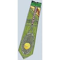 "Tennis Tie ""Large Racquet"""