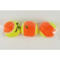 Clarke Pressureless Tennis Balls Yellow/ Orange