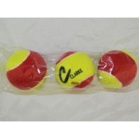 Clarke Pressureless Tennis Balls Yellow/ Red