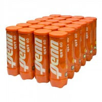 Penn QST 60 Orange Dot 3 Ball per Can - Case of 24 Cans