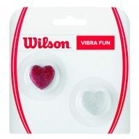 Wilson Vibra Fun Vibration Dampener - Glitter Hearts