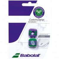 Babolat Custom Dampener Wimbledon Green/Purple