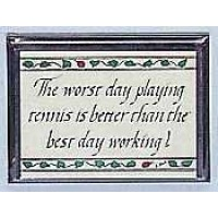 "Wood Plaque ""Worst Day"""