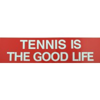 "Tennis Sticker ""Tennis Good Life"""