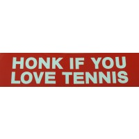 "Tennis Sticker ""Honk"""