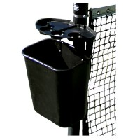 Court Tray and Basket Set - Black