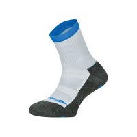 Babolat Men's Pro 360 Sock - White/Diva Blue - (9.5-11.5)