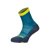 Babolat Men's Pro 360 Sock - Mosaic Blue/ Blazing Yellow - (9.5-11.5)