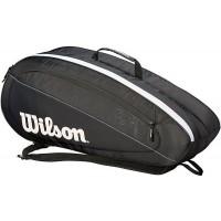 Wilson Federer Team 6 pack Black/White