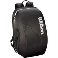 Wilson Federer Team Backpack - Black/White