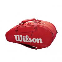 Wilson Super Tour 2 Compartment Large Tennis Bag - Red