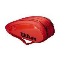 Wilson Federer DNA 12 pack Infrared Tennis Bag