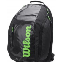 Wilson Super Tour Black/Green Backpack Bag
