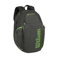 Wilson Blade Tennis Backpack  Black and Green