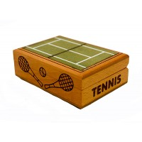 Wood Tennis Box