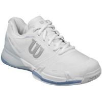 Wilson Rush Pro 2.5 Women's Tennis Shoe - White / Pearl Blue / Stonewash