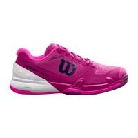 Wilson Rush Pro 2.5 women's Tennis Shoe - Berry / White Pink Glow
