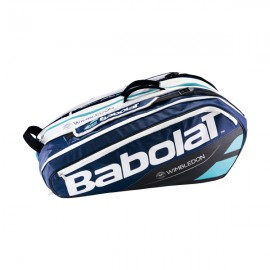 Babolat Pure 12 Pack Wimbledon Bag - Blue-Black-White - 2017