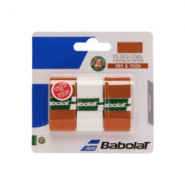 Babolat VS Grip French Open Overgrip - Clay-Clay-White - 2017